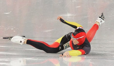 Germany's women speed skaters take gold – just