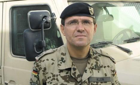 Klein tells inquiry he ordered Kunduz air strike in a rush