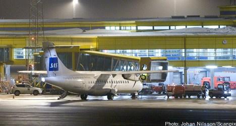 Fire breaks out onboard SAS plane