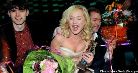 Anna Bergendahl wins Melodifestivalen