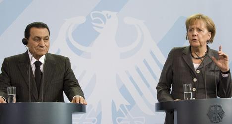 Egypt's Mubarak undergoes surgery after visiting Merkel