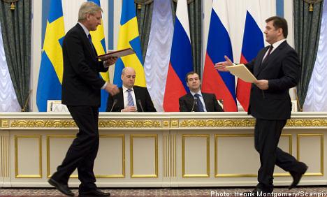 Sweden helping Chechen 'bandits': Russia