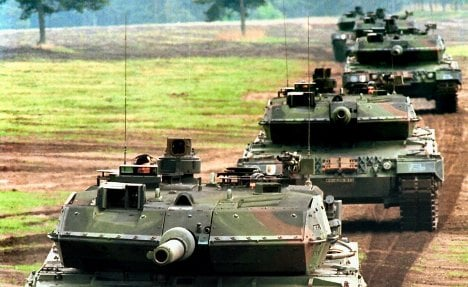 German arms exports double in five years