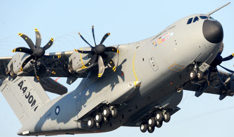Germany brokers deal on A400M transport