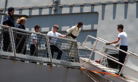 Somali pirates extradited to Germany