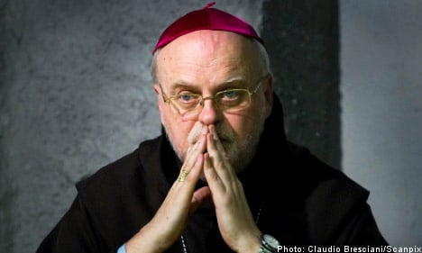 Bishop begs forgiveness for Catholic priest abuse