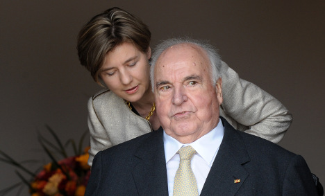 The giant of German politics celebrates 80th