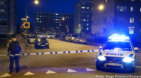 Man shot in Malmö as gang war intensifies