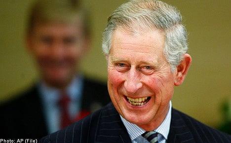 Bergström and Prince Charles invited to royal wedding pre-party