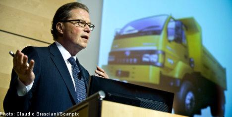 Volvo stock responds to positive report
