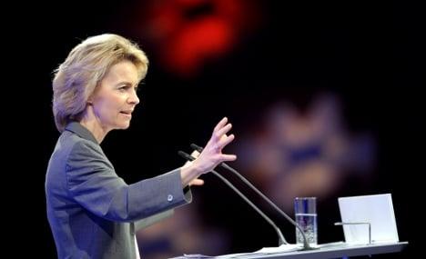 Von der Leyen tops poll for favourite politician