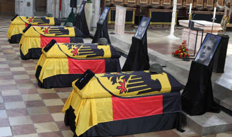 Politicians honour fallen Bundeswehr soldiers