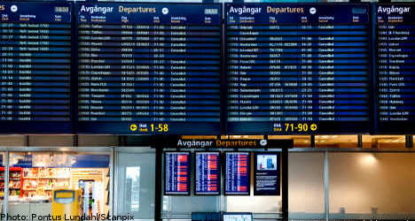 Major Swedish airports reopen