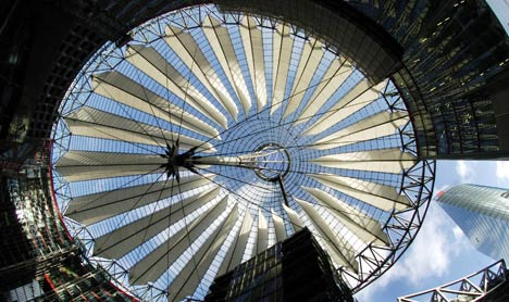 South Korean pension fund bids for Berlin's Sony Centre
