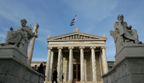 Conservatives suggest Greece leave Euro currency union