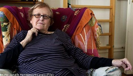 Outspoken author Kerstin Thorvall dies