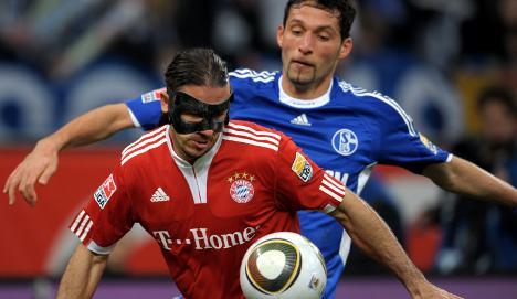 Bayern's Demichelis relishing title race with Schalke