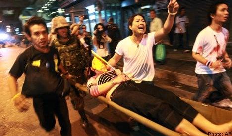 Sweden extends Thailand travel warning