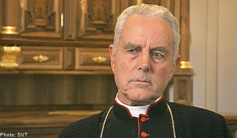 Rogue British bishop fined for Holocaust denial