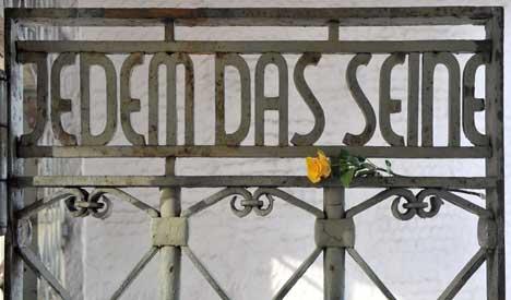Nazi camp Buchenwald liberated 65 years ago