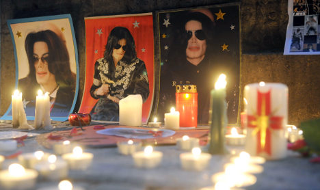 Munich's makeshift Michael Jackson memorial sparks bitter row