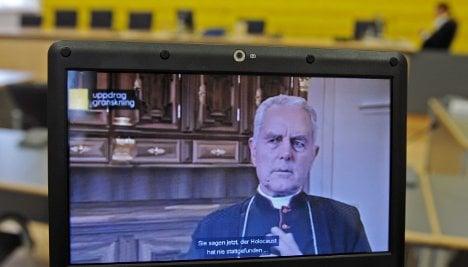 Holocaust-denying bishop Williamson sentenced to fine