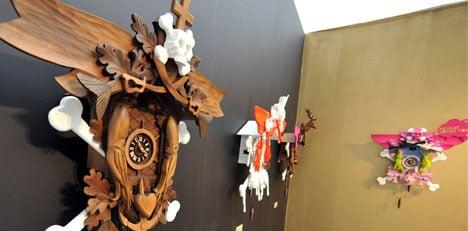 The cuckoo clock makes a comeback