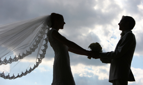 Fewer Germans tying the knot