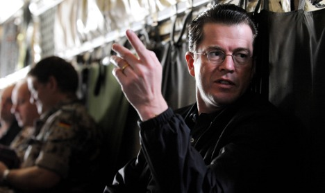 Guttenberg boosts firepower in Afghanistan