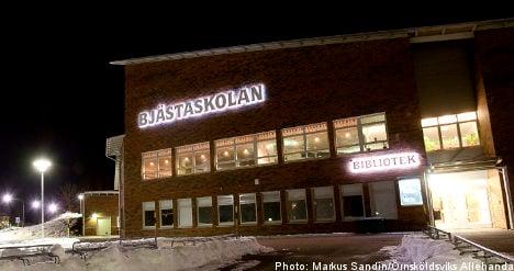 Threats rain down on Bjästa school