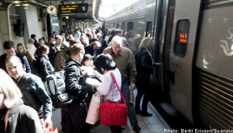 Volcano forces early end to Swedish rail monopoly