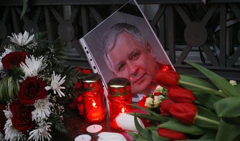 German press mourns Poland's Kaczynski