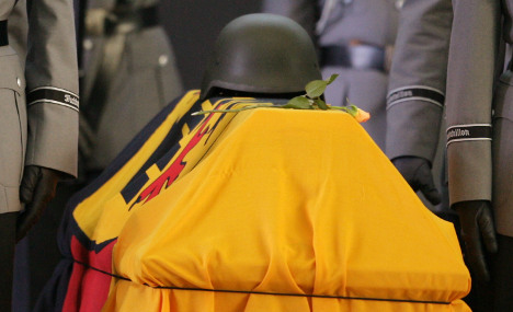 Taliban attacks ahead of Bundeswehr funeral
