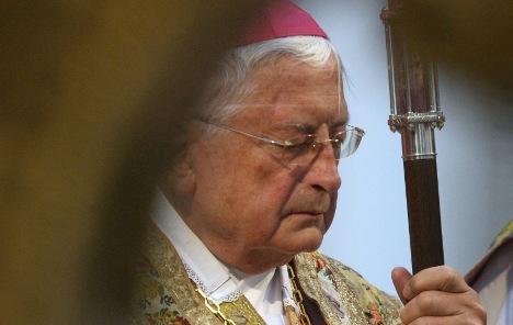 Bishop Mixa resigns