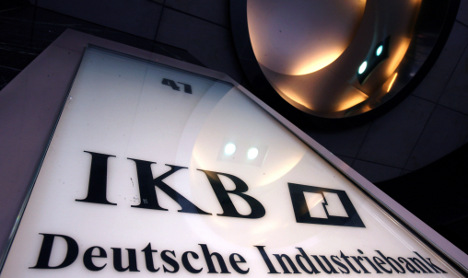 IKB considers suing Goldman Sachs for fraud