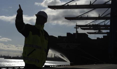 Rebounding trade and weak euro boost exports