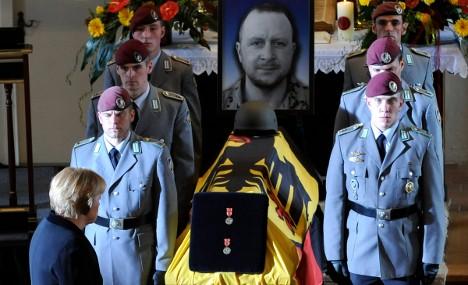 Merkel mourns fallen Bundeswehr soldiers
