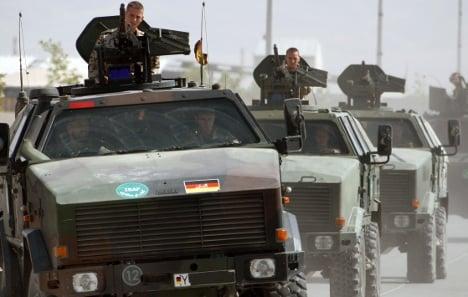 Three German soldiers killed in Afghanistan