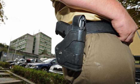German police using their guns less