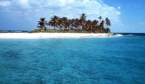 Scientists find sunken islands in the Caribbean