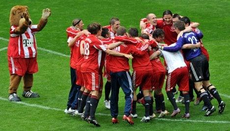 Bayern Munich secure league title