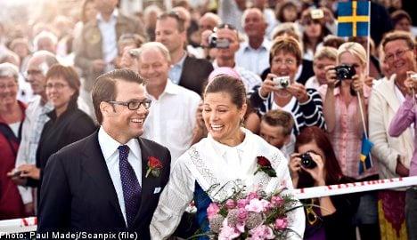 Wedding prompts huge foreign media interest