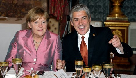 Merkel tells Club Med not to expect cash transfers