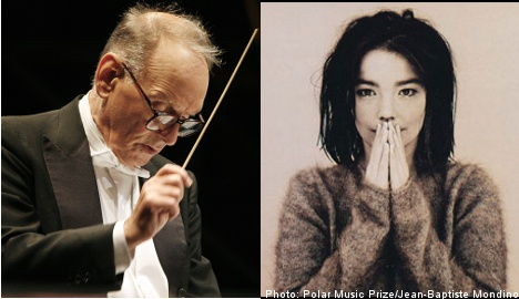 Björk shares Polar Music Prize