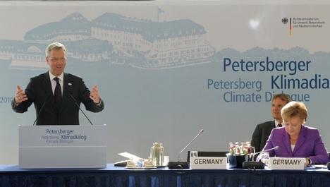 Röttgen says 'ice broken' at Bonn climate talks