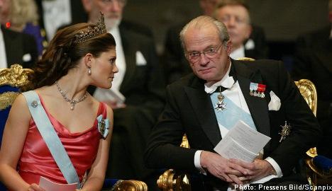 King foots half of daughter's wedding bill
