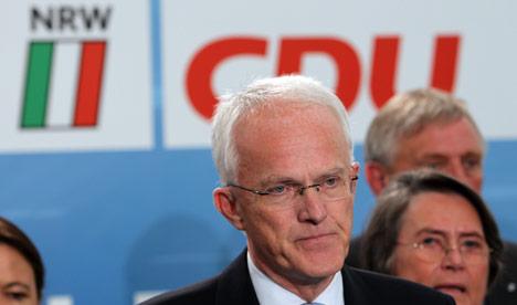 CDU suffers defeat in North Rhine-Westphalia