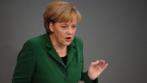 Merkel says EU's future at stake in Greek crisis