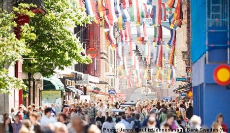 Stockholm's royal love fest unveiled