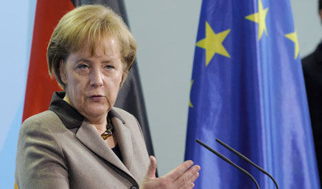 Merkel: Greek crisis will inspire Spain, Portugal